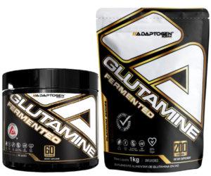 Glutaminas Fermentadas em pote e pouch de 1kg Adaptogen