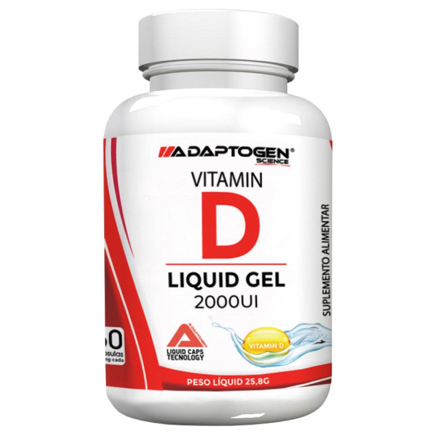 Vitamina D3 500mg 2000ui 60 cápsulas