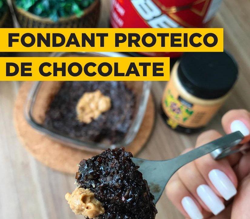FONDANT PROTEICO DE CHOCOLATE