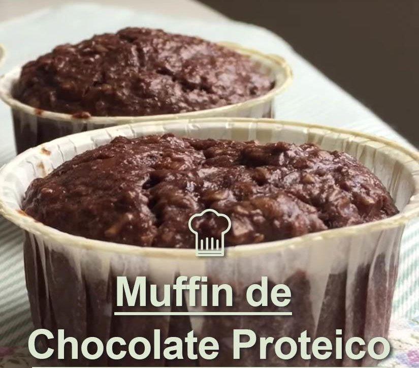 MUFFFIN DE CHOCOLATE PROTEICO