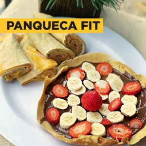 Receita de Panqueca Fitness