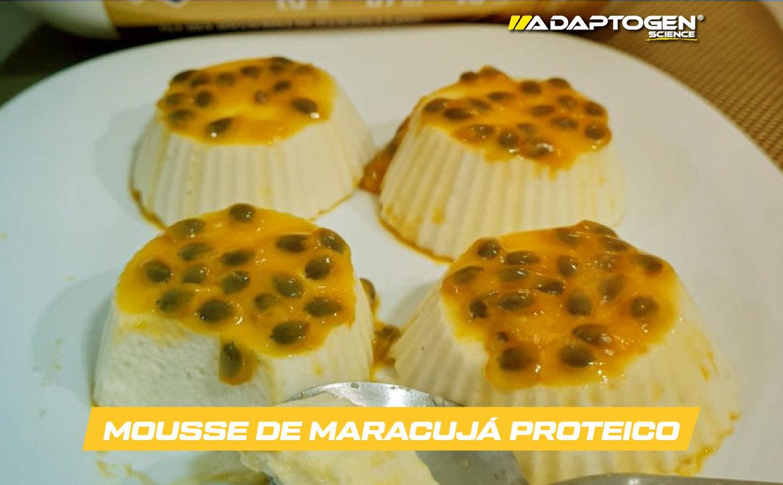 Mousse de Maracujá Proteico