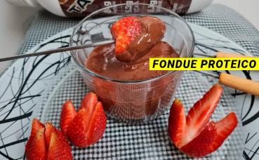 Fondue Proteico com Tasty Whey