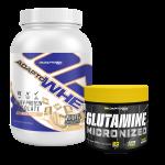 Kit Adapto Whey + Glutamina grátis