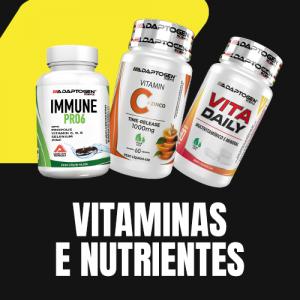 Vitaminas e Nutrientes